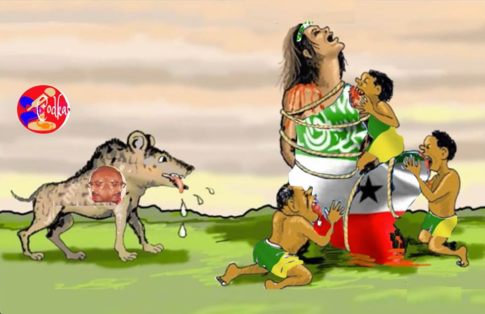 Photo News:Sawir Gacmeed laga sameeyey xaaladda Somaliland iyo Gudoomiye Faysal Cali Waraabe..