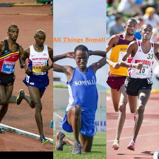 5 Somalis Compete 5000m for 5 Different Countries in 3 Continents