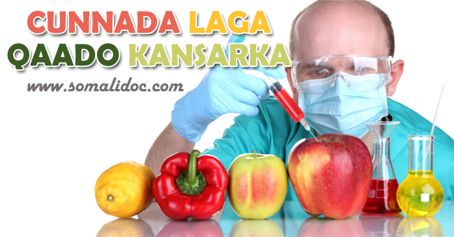 Cuntooyinka laga qaado cudurka dilagaa ee Cancerka (Cancer)