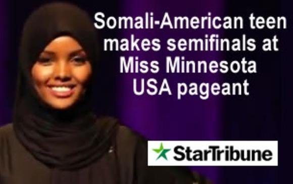 Somali-American teen makes semifinals at Miss Minnesota USA pageant