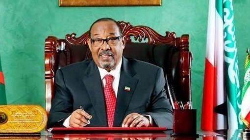 Madaxweynaha Jamhuuriyadda Somaliland, Mudane Axmed Maxamed Silaanyo, waxa uu wareegto madaxweyne oo summadiisu tahay JSL/M/WM/222-4481/012017 uu
