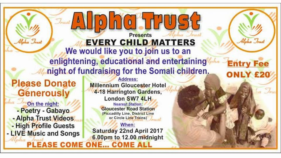 OGEYSIIS:You can buy the tickets online for our upcoming Alpha Trust event…