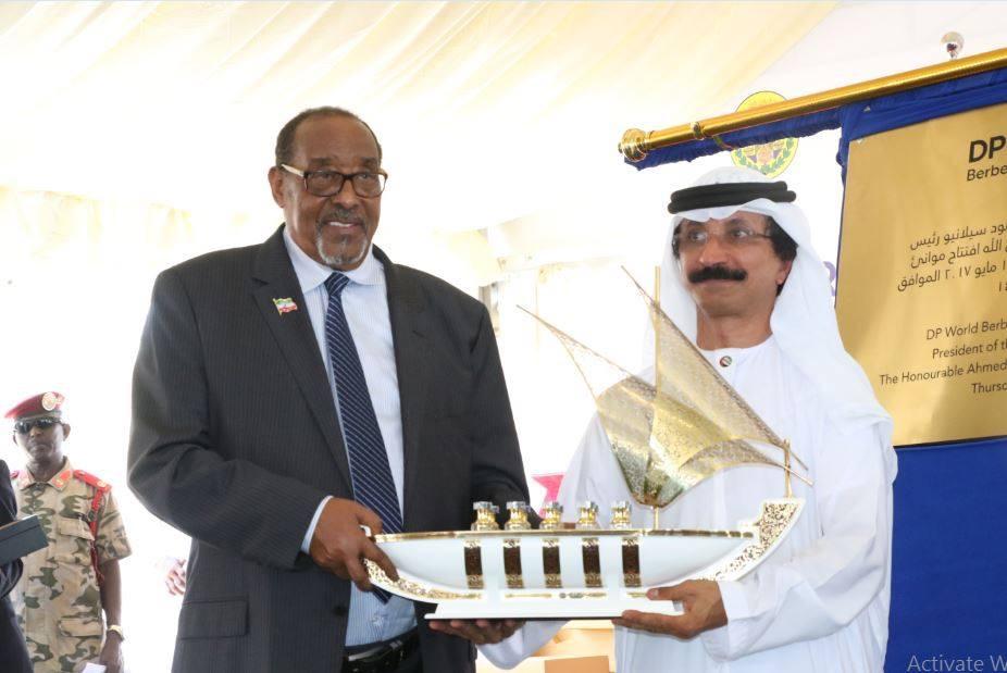 Madaxweynaha Jamhuurriyadda Somaliland Oo Daah-furay Mashruuca Shirkadda DP World Kula Horumarinayso Dekedda Berbera. May 11, 2017