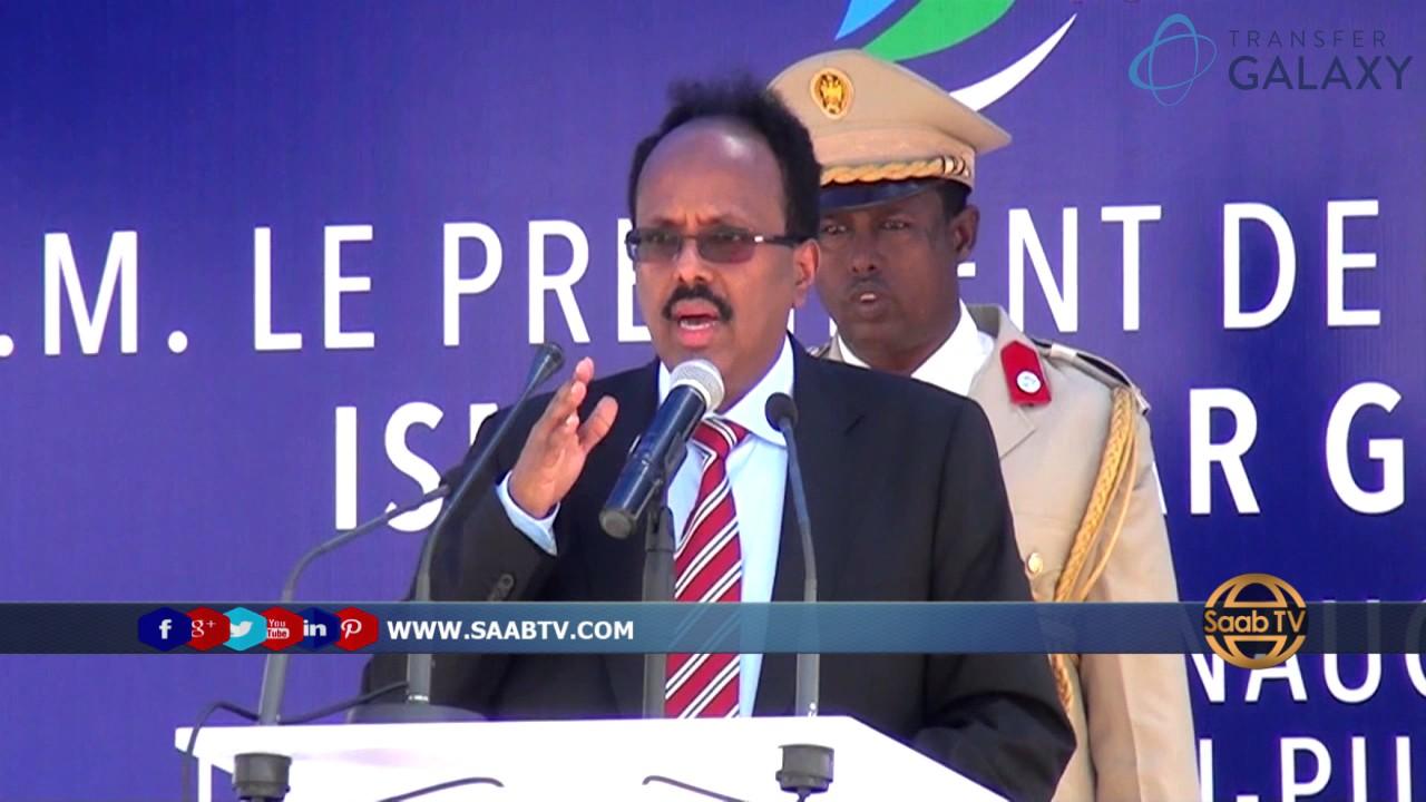 Madaxweyne Farmaajo Oo Ka Hadley Madaxweynaha Cusub Ee Somaliland November 22,2017