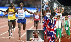 Mo Farah claims 10,000m gold at the World Championships in glorious return to the London Stadium