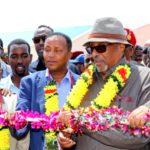 Madaxweynaha Somaliland Oo Xadhiga Ka Jaray Mashaariic La Hirgaliyey Gobolka Sool Kuwo Kalana Dhagax-dhigay