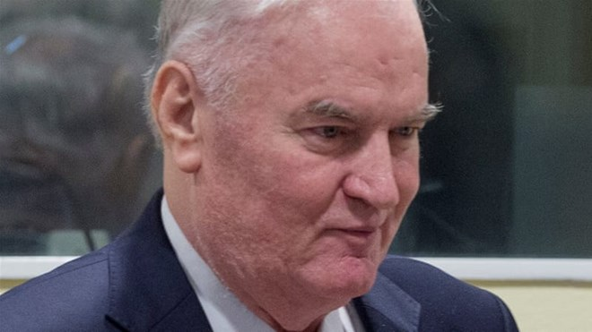 Ratko Mladic sentenced to life in prison for genocide in Bosnia