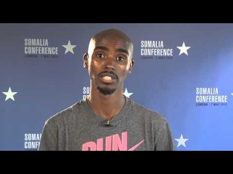 Maxamed Faarah oo Soomaalida fariin u direy ku wajahan shirka Somalia ee 7 May