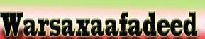 Warsaxafadeed