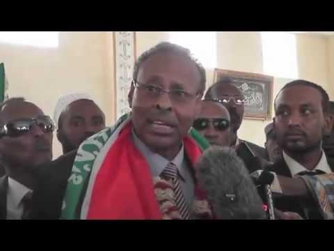 Daawo Sida losoo dhaweeyey Wasiirka Cusub ee arimaha Dibada Somaliland